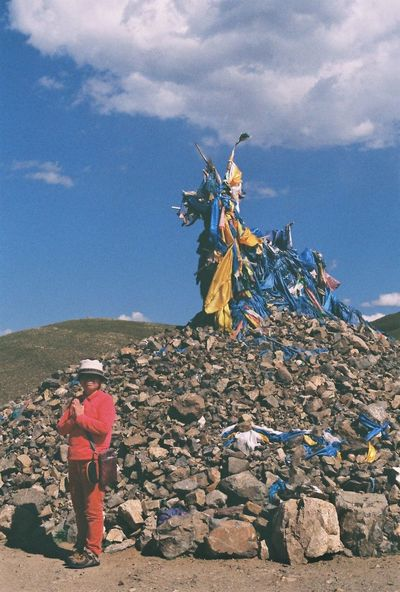 Women Who Inspire You Mongol Mom Pray Shamanism Minolta Film Camera Mother Fuji