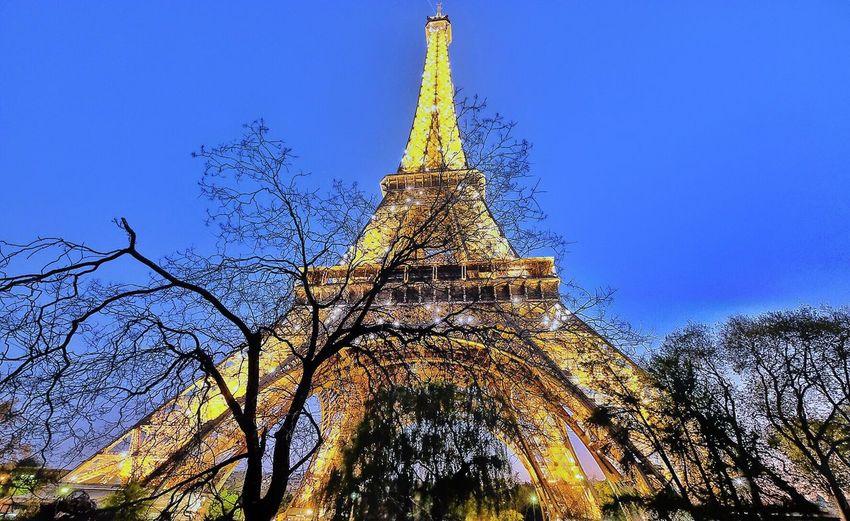 The night queen Eiffel Tower Lovely Paris Happy Weekend Paris