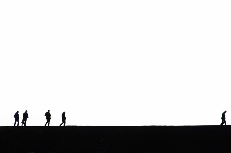 Stand out from the crowd EyeEm Best Shots - Minimalist Bw_collection Silhouette Supernormal