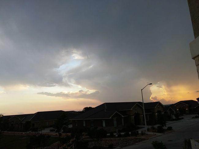 Unedited Stormprogresses Newbraunfels Texas Stormy Sky Transforming Spring In Texas