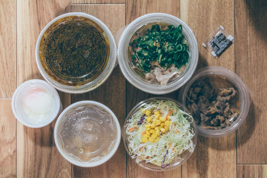 Bowl Choice Curry Deli Delicious Dinner Egg Food Food And Drink Gyudon High Angle View Ultimate Japan Feel The Journey My World Of Food Japanese Food Mealtime Miso Soup PLASTIC CONTAINER Ready-to-eat Rice Salad Set Meal Show Us Your Takeaway! Tonjiru Variation