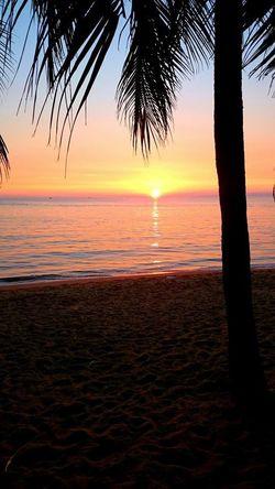 Sunset Sea Swing Tayland