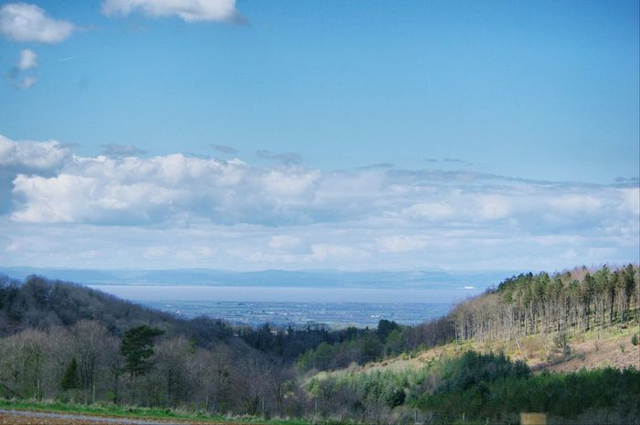 Nature On Your Doorstep Nature Colors Yeah Springtime! Looking Towards Wales From The Mendip Over The River Severn
