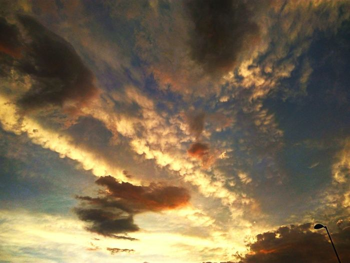 JuanRosillo Eye4photography  Color Photography EyeEm Gallery Sunset Storm Cloud Backgrounds Sky Only Silhouette Multi Colored Tree Dramatic Sky Sky Cloud - Sky