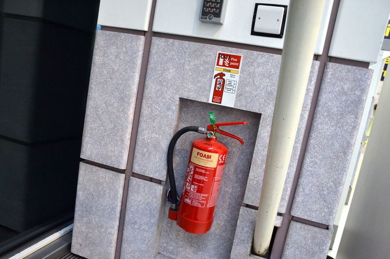 Be Alert Close-up Danger Day Fire Alarm Fire Extinguisher Fire Risks Keep Safe No People Outdoors Red Red Red Collection Red Color Red Color Is Powerfull Red Colors Red Colour Safety
