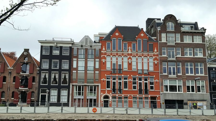 Building Exterior House Architecture Residential Building Outdoors Façade Window Day Built Structure No People Sky Amsterdam Dam Netherlands Olanda Colors Colorful Travel Travelling Traveling Voyage