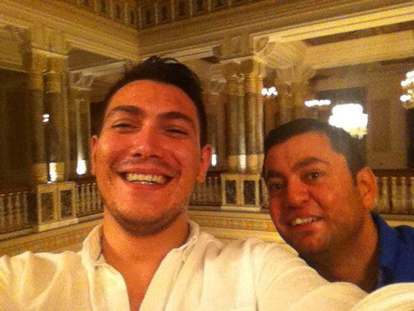 Istanbul Turkey Ciragan Palace Ballroom