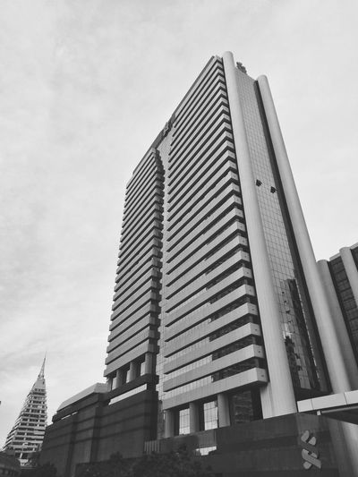 office building in bangkok city Business Building Building Exterior Office Building Office Building Exterior Office High Low Angle View Metropolis City Town Bangkok Thailand Bangkok Thailand. Blackandwhite Black And White Monochrome Sky City Skyscraper Sky Architecture Building Exterior Built Structure Office Building Tall - High Tower