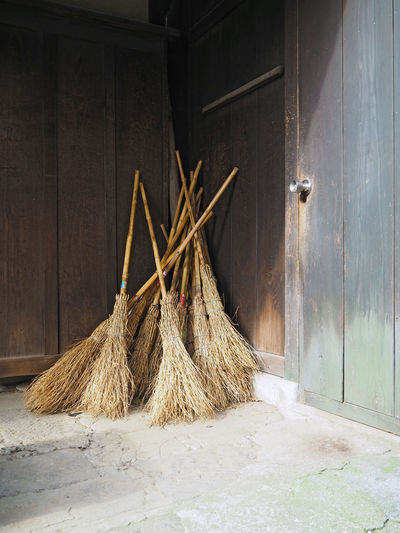 Broom Brooms  Brush Brushes Cleaning Japan Japanese Culture Mops Wood Wooden
