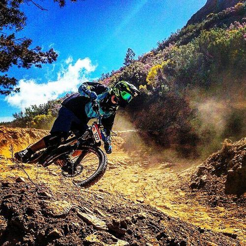 Downhill Nukeproof Bike Ride Flyracing Gear La Pinilla Bikepark Competition Jt Racing Gear Fiveten First Eyeem Photo