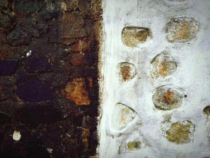 old wall v new