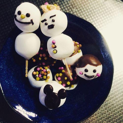 happy☆ Cute Photography Food Yum Chocolate Marshmallow Valentine Yummy