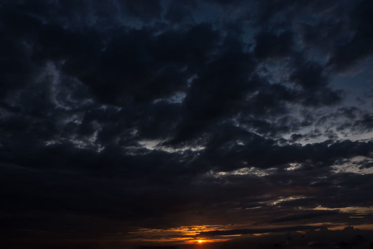 Evening Sky Beauty In Nature Cloud - Sky Dramatic Sky Nature Night No People Outdoors Scenics Sky Storm Cloud Sunset Tranquil Scene Tranquility Weather