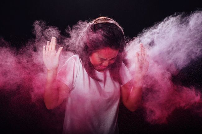 TCPM Studio Shot Motion Powder Mental Health  EyeEmNewHere Mental Health Awareness Colors