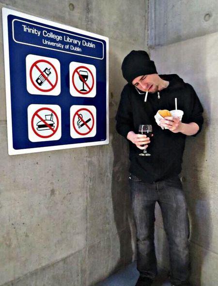 Interdit Smoke Drinking Call