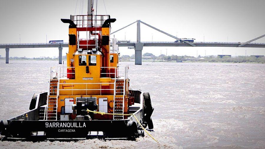Transportation Tugboat Magdalena River Amo A Colombia MMartenco Let's Go. Together.