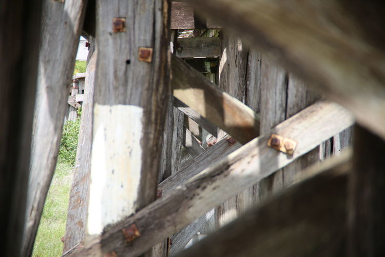 Architecture Built Structure Close-up Day Muttlypictures No People Old Bridge Outdoors Rickety Wood - Material