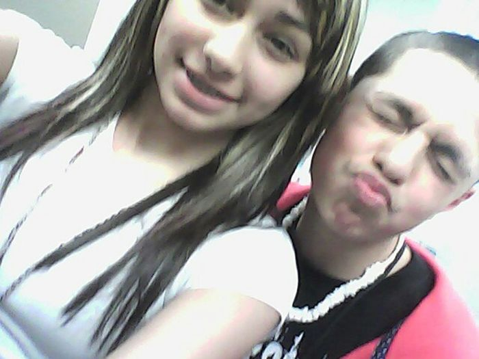 Me && Jesse In 6th Period C;