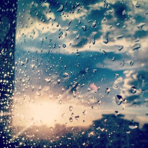 Merhaba :) Rain Sun Artfida Artofinstagram mountain manzara yağmur sky