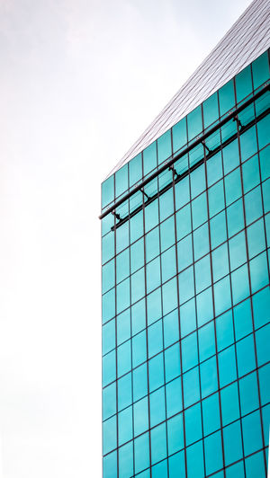 The Architect - 2018 EyeEm Awards Architecture Blue Building Building Exterior Built Structure City Cloud - Sky Day Geometric Shape Glass - Material Low Angle View Modern Nature No People Office Office Building Exterior Outdoors Pattern Sky Skyscraper Turquoise Colored Window