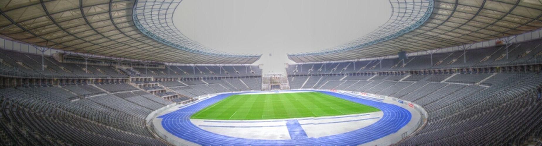 Oly-Pano 2k13 Architecture Berlin Historical Building Panorama Football Stadium Football Stadium Olympic Stadium Historical Sights Charlottenburg