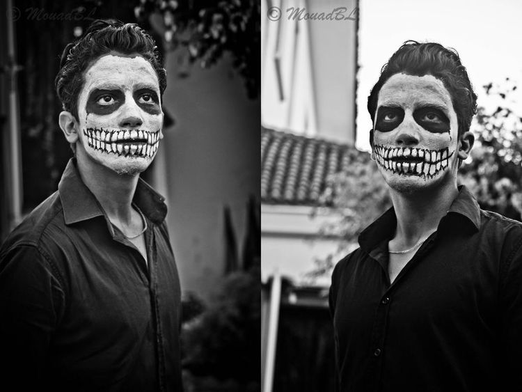 Halloweentime The Story Behind The Picture Today's Hot Look Scary skull