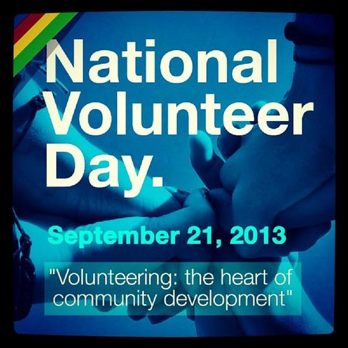 National Volunteer Day on Sept 21... Nvday Ghana Ghana360
