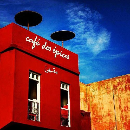 Au café des épices Nikonfr Unmomentsidoux Igers Holiday Travel Maroc Morocco Igersmorocco Marakech Igersmarakech Igersmorocco Architecture Cite Archilovers Art Colors Méditerranée Medina Picsoftheday Coeurpostal Colors Cafedesepices Best  Likeitup