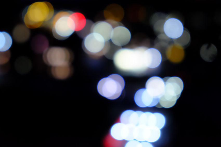 Abstract Backgrounds Black Color Defocused Ethereal Illuminated Light Effect Multi Colored Night Nightlife No People Outdoors Spotted Tenebrio.photos Zeiss60mm