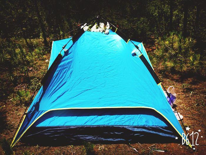 露营也是很好的历练。 Having Fun