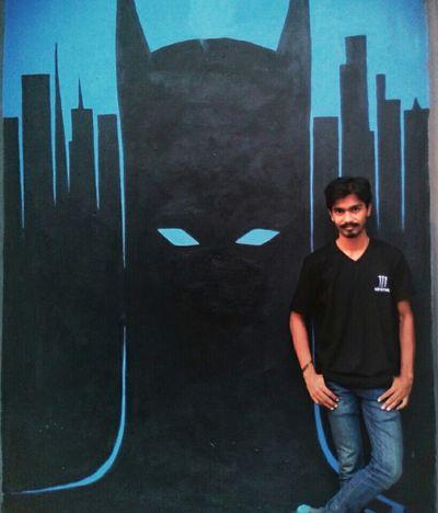 Batman The Dark Knight BatFan Wall Art