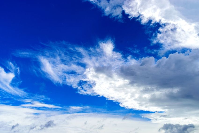 Skyscape Nature Sunny Blue Sky Majestic Summertime Beautiful Backgrounds Blue Sky Only Wind Textured  Dramatic Sky Sky Cloud - Sky Light Blue Cloudscape Moody Sky Atmospheric Mood Heaven