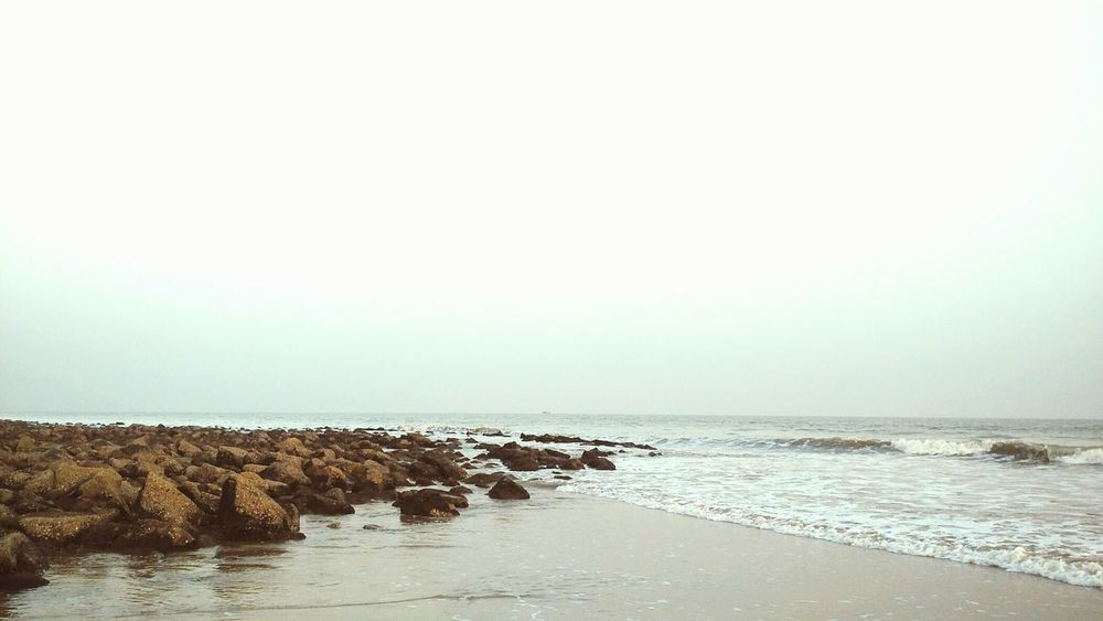 Sea Water Nature Tranquility Horizon Over Water Tranquil Scene No People Day Beach Sky Scenics Beauty In Nature Outdoors