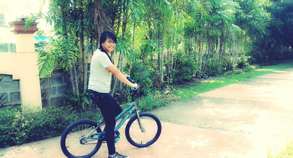 Bike Being Creative Self Portrait
