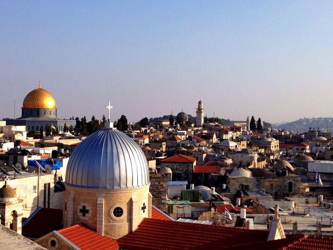 Jerusalem Israel Roof Top Muslim
