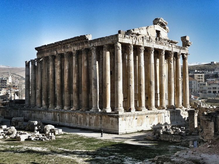 Lebanon Ancient Civilization Ancient Architecture Historical Building Historical Monuments Architecture Building Buildings Beqaavalley Landscape Landscape_Collection Landscape_photography Landscapes Landscape_photography Ruins Roman Architecture Landscapes With WhiteWall Temple Of Jupiter Baalbek World Heritage Site Mystery