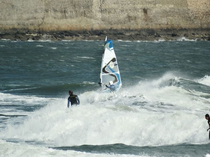 Surf Windsurfing Port Louis Wave Spindrif Breakers