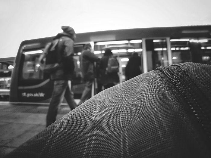 Sad Monday  City Day Transportation Awaiting Just Another Monday