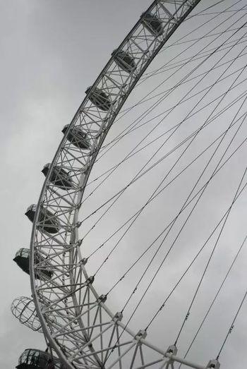 London Eye Enjoying Life Beautiful City Taking Photos