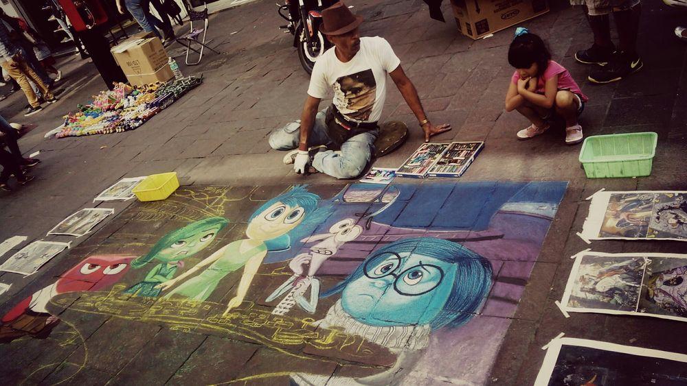 Streetphotography Pencilart Streetphoto_color Leslie_Gr_In Dibujos Erwin Scherzer