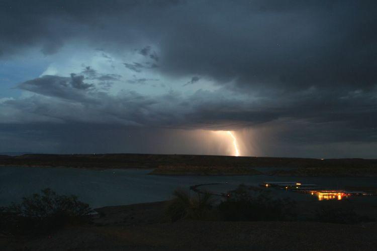 Storm Storm Landscape on Elephant Butte