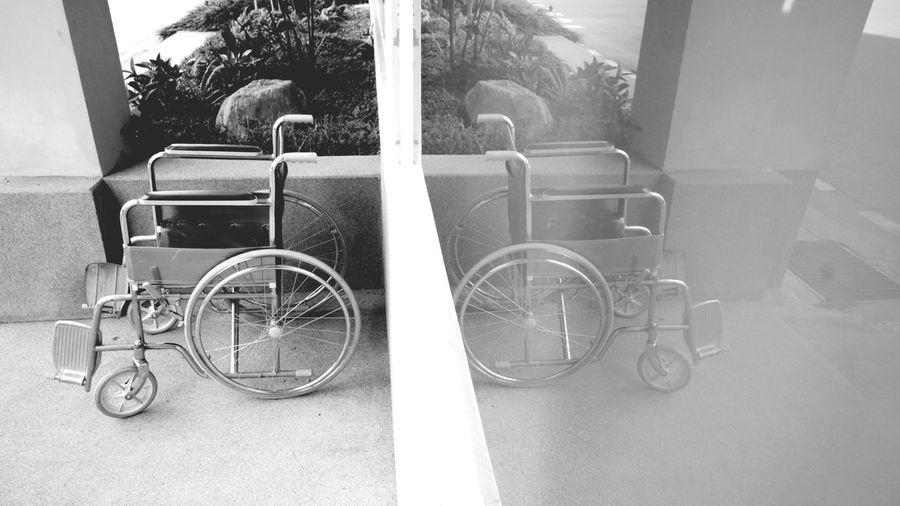 a wheel chair