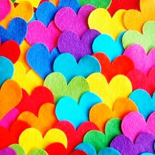 Heart ❤ Love ♥ Red Yellow Blue Heart EyeEm Filter Good Night 😘 Sweet Dreams Likeforlike