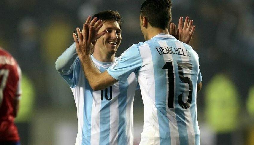 Argentina Afa Messi Demichellis Copa America