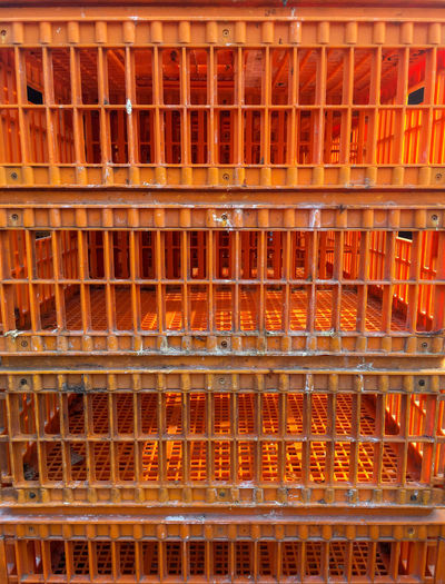 Box Built Structure Chicken Box Chicken Cage Chicken Transportation In A Row Shelf Transport Transport Chicken