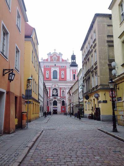 Poznań Poland Urbanphotography Church Baroque Architecture Classical Architecture