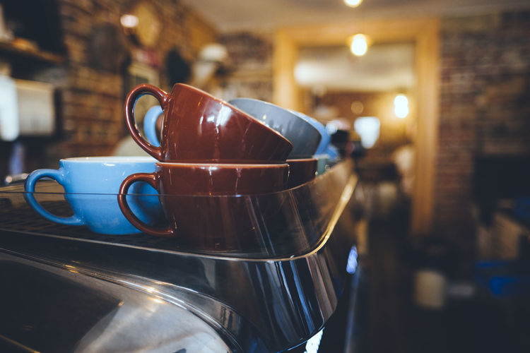 Coffee Coffee Machine Coffee Time Cafe Coffee - Drink Coffee Culture Coffee Cup Cups Espresso Maker Focus On Foreground Indoors  Style