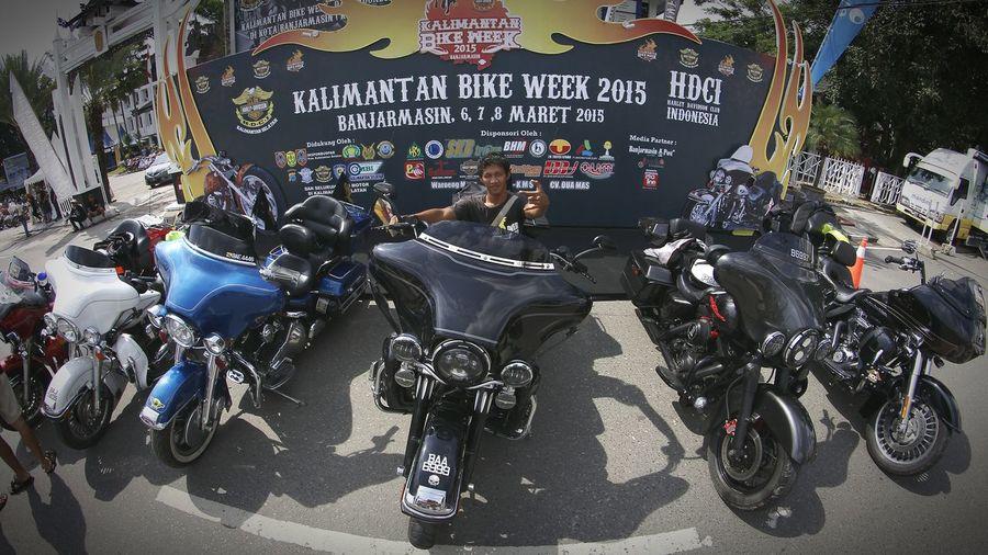 Event HDCI_KALSEL Kalimantanbikeweek2015 Banjarmasin Me Harleydavidson Enjoying Life Narsis