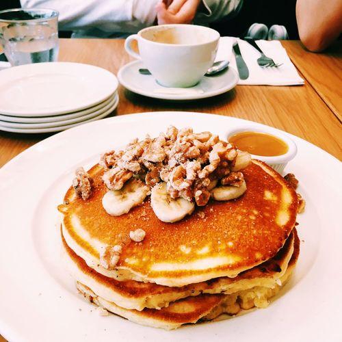 Neon Life Food Pancake Cafe First Eyeem Photo