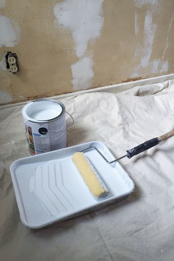 Interior Views Interior DIY Painting Paint Primer Home Improvements Remodeling Task To Do List Todo Repaint Toil Improve Fix Up Do It Yourself